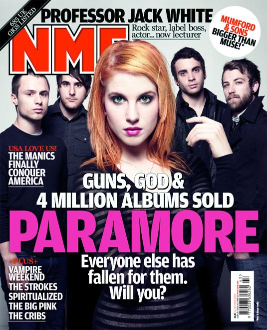 Paramore v NME časopisu