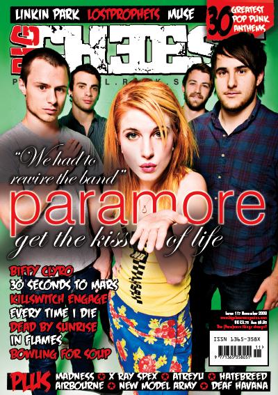 Paramore na titulní Big Cheese