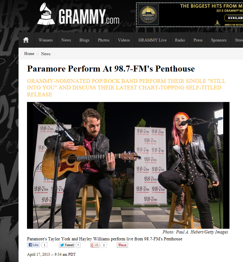 paramoregrammyinterview