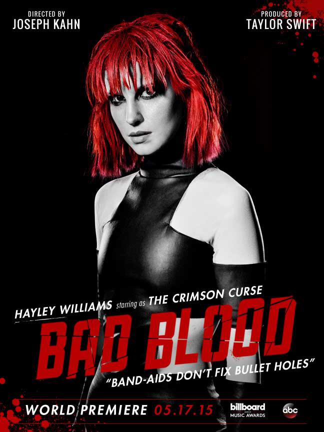 "Hayley in ""Bad Blood"""