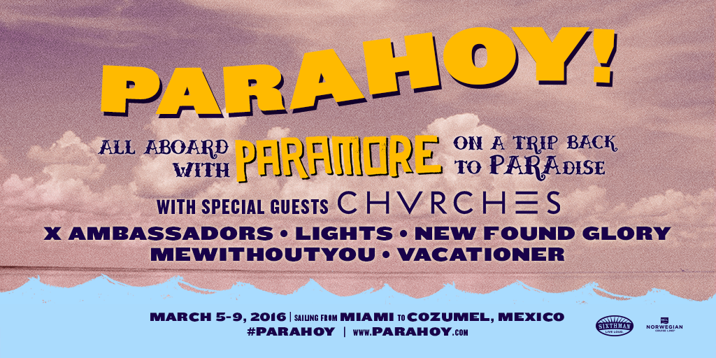 PARAHOY! 2 Lineup Announced